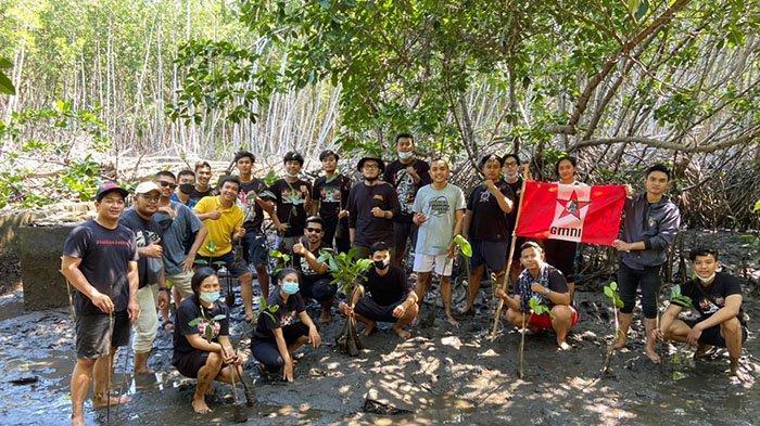 Peringati Hari Lahir Bung Karno dan Hari Lingkungan Hidup,GMNI Hukum Unud Gelar Aksi Penanaman Pohon