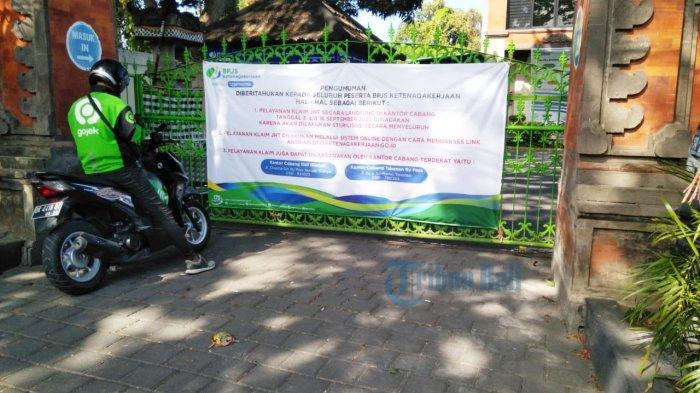 Bpjs Ketenagakerjaan Bali Denpasar Terapkan Pelayanan Wfh 14 Hari Tribun Bali
