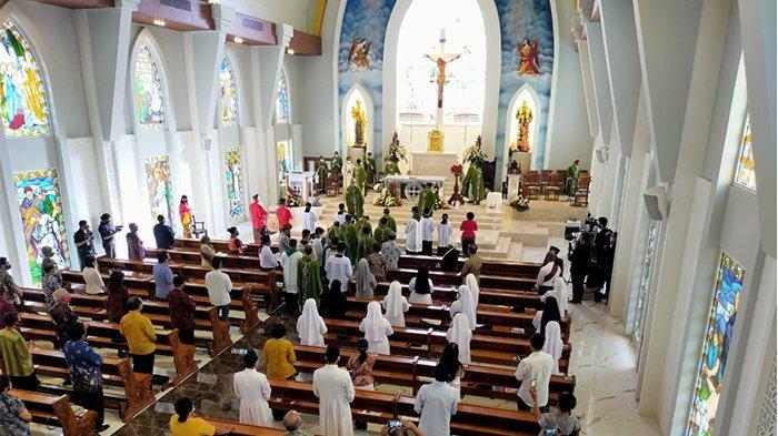 Ditahbiskan Uskup Denpasar, Gereja Santa Maria Ratu Rosari Gianyar Jadi Pusat Spiritual Semua Umat