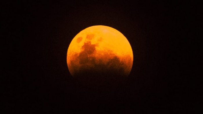 Inilah Prakiraan Cuaca  di Denpasar Jelang Gerhana Bulan Blood Moon