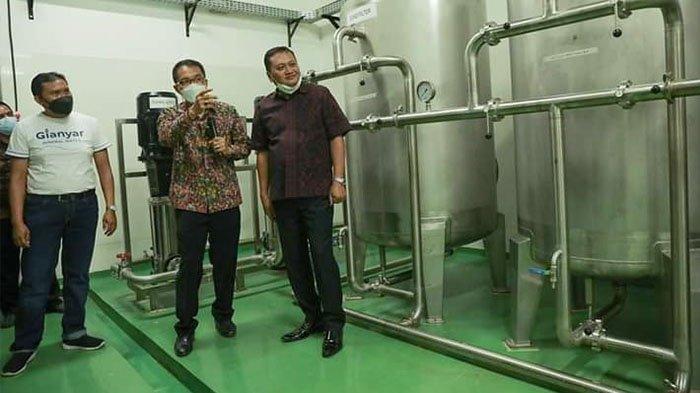 Warga Gianyar Diimbau Gunakan Produk Air Kemasan Milik Pemkab Berlabel Gianyar Mineral Water