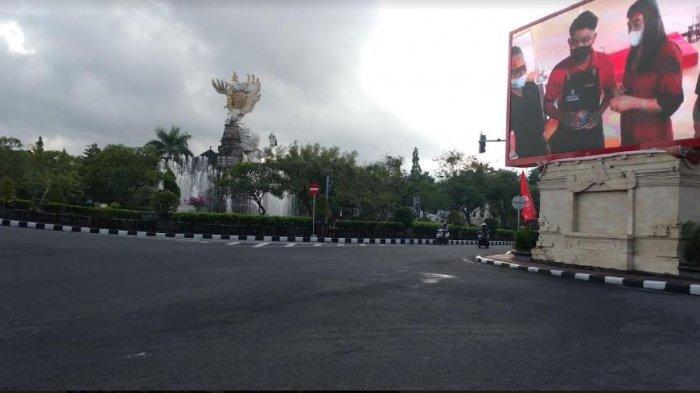 PPKM Diperpanjang, Suasana Hari Kemerdekaan Indonesia di Gianyar Sepi Tanpa Perayaan