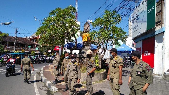 Operasi Yustisi Covid-19 di Denpasar 23 April 2021 Nihil Ditemukan Warga Tak Bermasker