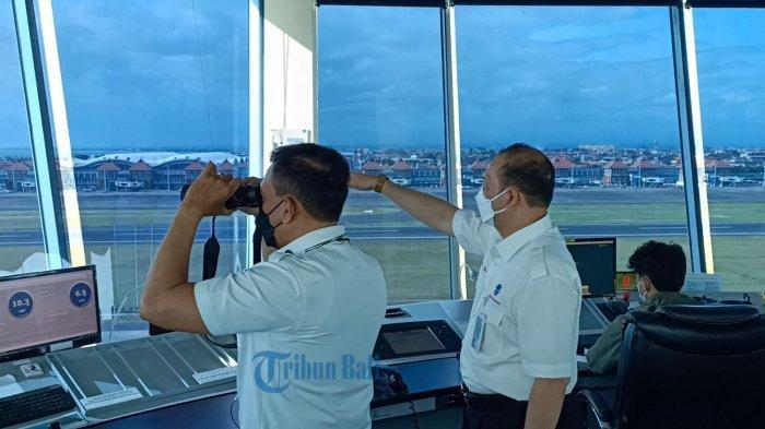 Personel ATC Bandara Ngurah Rai Siap Sambut Pembukaan Penerbangan Internasional