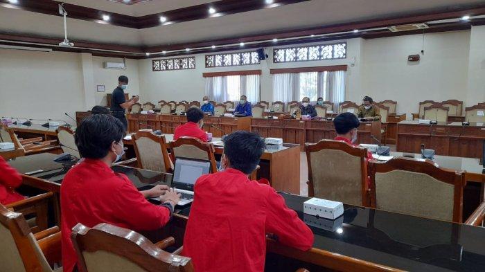Geruduk DPRD Bali, GMNI Bali Minta Ketegasan Pembukaan Pariwisata Bali, Sebut Rakyat Sudah Lelah