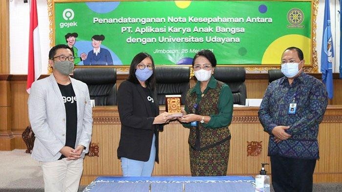 Gojek Jalin Sinergi dengan Universitas Udayana,Dukung Tri Dharma Perguruan Tinggi Berbasis TeknologI