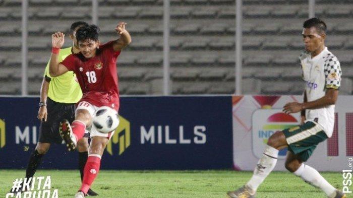 Hasil Timnas U-23 Vs Tira Persikabo, Anak Asuh Shin Tae-yong Menang 2-0