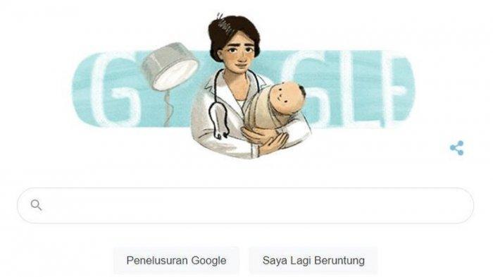 Ilustrasi Google Doodle Marie Thomas. Google menjadikannya sebagai Google Doodle, Rabu 17 Februari 2021 karena hari ini merupakan hari ulang tahunnya ke 125.