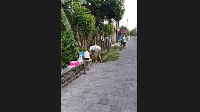 Antisipasi Banjir dan Wabah DBD, Kelurahan Sesetan Gencarkan Gotong Royong Kebersihan Lingkungan