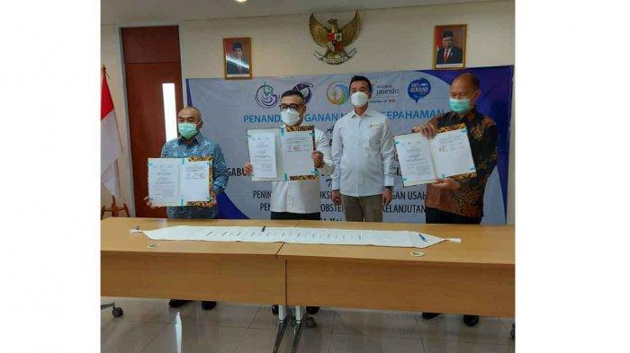 GPLI Bersama KKP dan JASINDO Tandatangani MoU Perlindungan Budidaya Lobster
