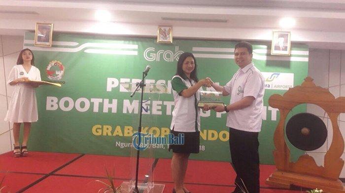 Grab dan Kophrindo Resmikan Meeting Point di Bandara Ngurah Rai