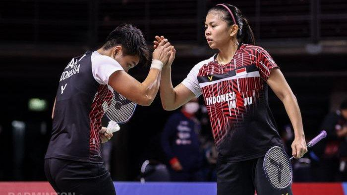 Hasil BWF World Tour Finals, Greysia/Apriyani Tambah Rekor Kemenangan atas Wakil Korea