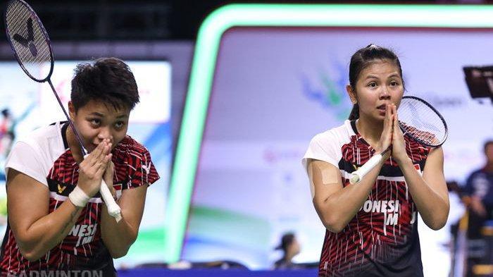 Wakil Indonesia, Greysia/Apriyani Tembus Semifinal Thailand Open II 2021