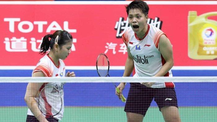 Ganda Putri Badminton Indonesia Greysia/Apriyani Gabung di Grup A Olimpiade Tokyo, Ini Pesan Pelatih