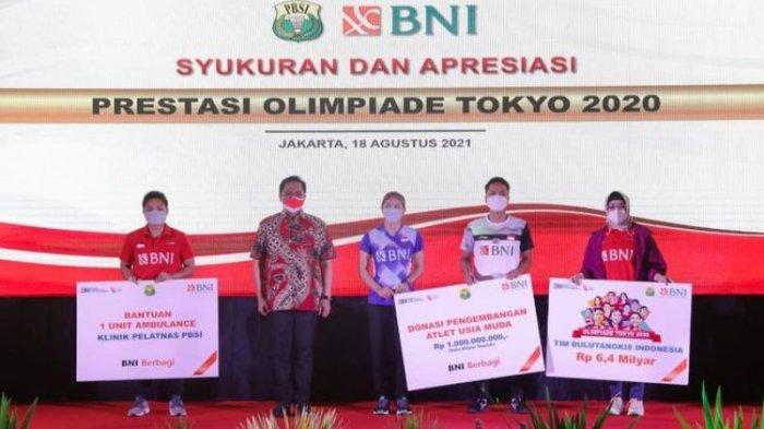 PBSI Guyur Bonus Rp 250 Juta untuk Greysia Polii/Apriyani dan Anthony Ginting Rp 100 Juta