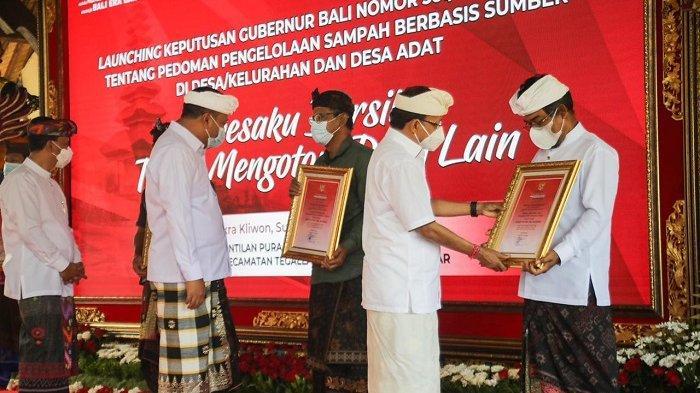 TPS3R Desa Taro Gianyar Jadi Percontohan Pengelolaan Sampah di Bali