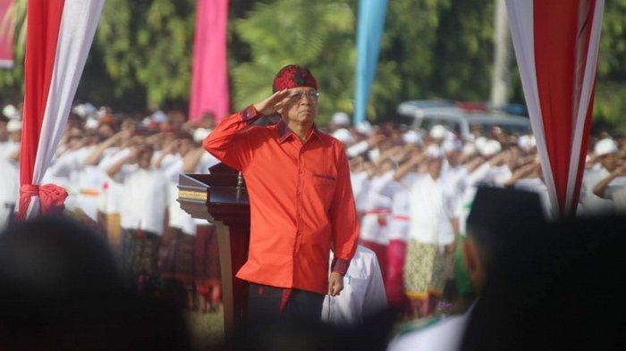 Istimewa! Hari Lahir Pancasila Diperingati Peserta Berbusana Adat Bali