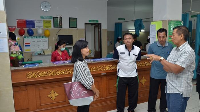 Kasihan, Pasien Berjubel di RSUD Klungkung, Dokter Minim Saat Liburan