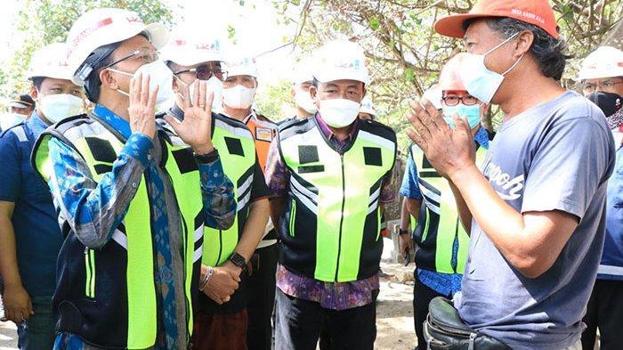 Tinjau Proyek Pembangunan Pelabuhan Sanur, Gubernur Koster Sebut Nelayan Bakal Dapat Alokasi Tempat