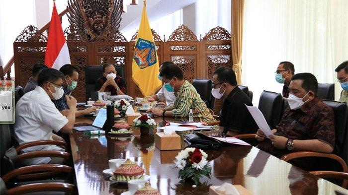 PPKM di Bali Resmi Diperpanjang, Gubernur Koster Mendadak Undang 5 Kepala Daerah, Kapolda & Danrem
