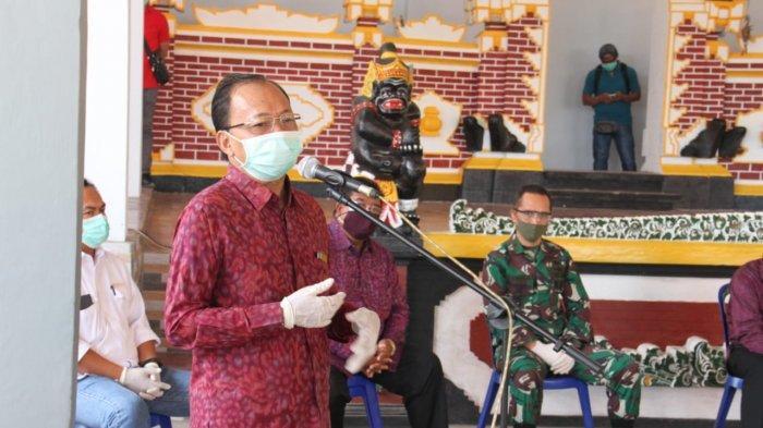 Koster Sambangi Desa Bondalem Buleleng yang Jadi Wilayah Transmisi Lokal Corona di Bali