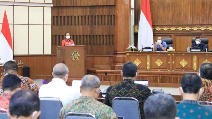Terima Kunjungan Komisi II DPR RI, Gubernur Koster Harap RUU Provinsi Bali Bisa Secepatnya Dibahas