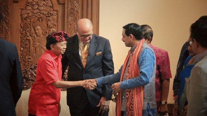 Koster Terima Tokoh Bisnis Hindu,Umat Hindu Diharapkan Ambil Peran dalam Percaturan Global