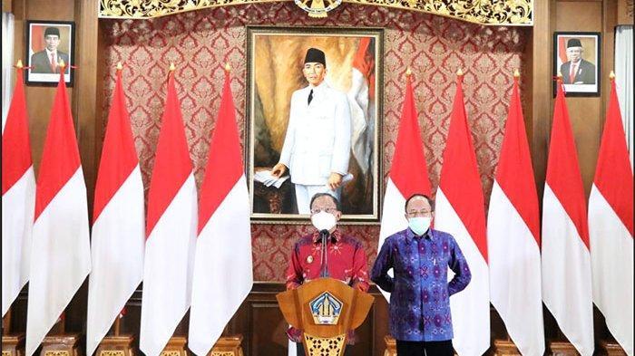 Pasien Asal Denpasar dan Badung, Gubenur Bali Konfirmasi 2 Varian Baru Covid-19