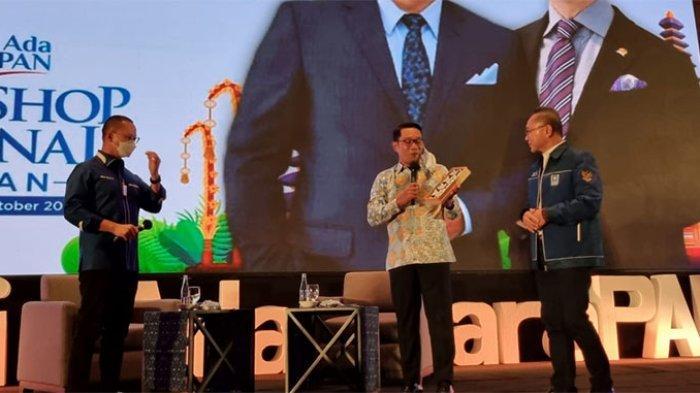 Jadi Pembicara di Workshop PAN, Ridwan Kamil Nyatakan Siap Tarung pada Pilpres 2024