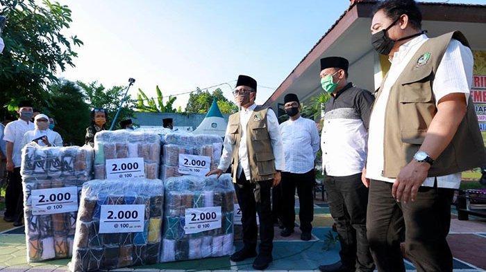 376.000 Masker Gratis Telah Dibagikan ke Desa-Desa di Banyuwangi