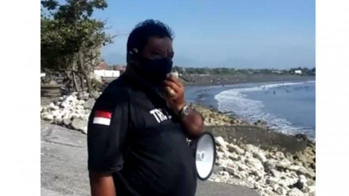 Tim Gabungan Gugus Tugas dan Satgas Covid-19 Sosialisasi Prokes di Pantai Sanur, Rencana Ada Sanksi