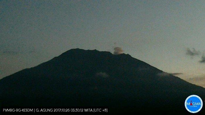 Hari Ini Status Gunung Agung Dievaluasi, Seperti Apa Kondisi Terkininya?