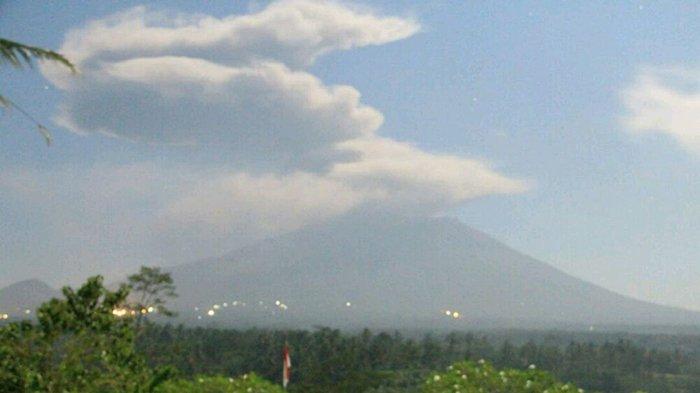 Status Level III Namun Gunung Agung Kembali Erupsi? Begini Penjelasan PVMBG