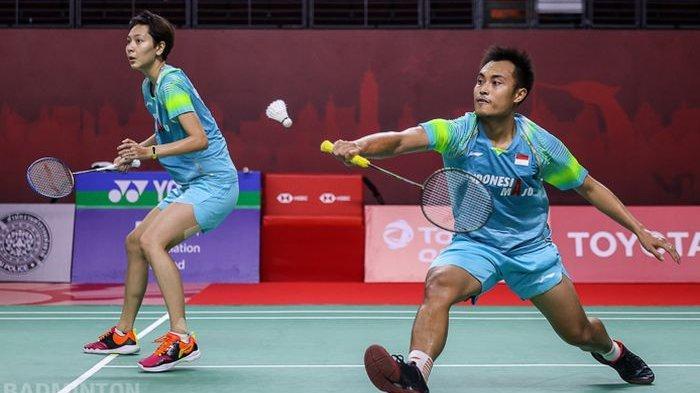 Rinov/Pitha Melaju, Hafiz/Gloria Dikalahkan Pasangan India, Berikut Hasil Swiss Open 2021