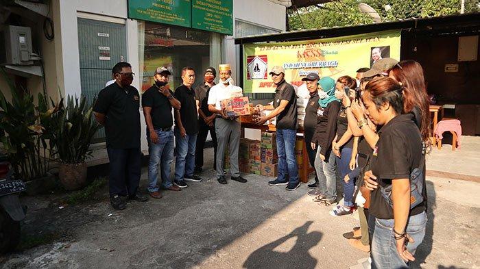 Eks Promotor Chris John Bantu Warga Terdampak Covid-19 di Bali, Kali Ini Bantu 400 KK di Badung