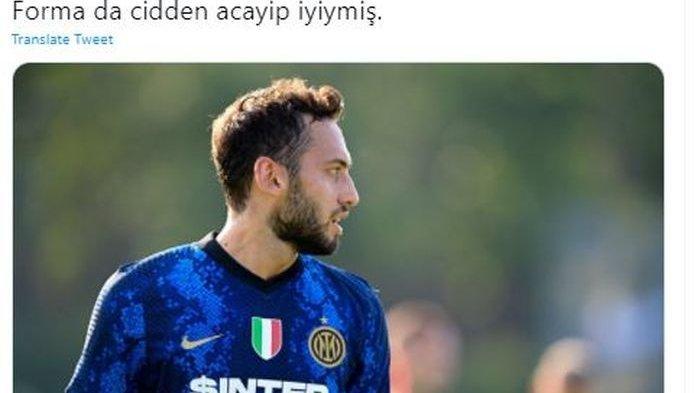 Hasil Inter Milan Vs Crotone: Nerazzurri Menang Besar, Hakan Calhanoglu Cetak Gol & 3 Assist