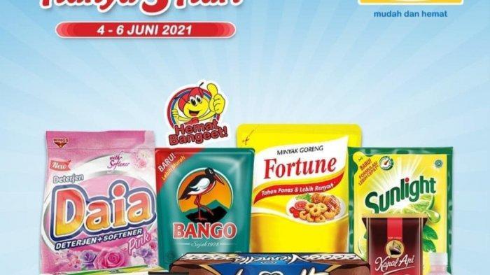 HANYA 3 HARI, Promo JSM Alfamart & Indomaret, Beras 52.900, Minyak Fortune 22.500, Sania 25.900