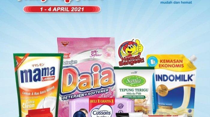 HANYA 4 HARI, Promo Indomaret 1 April 2021 BANJIR DISKON, Beras 5kg Rp54.900, Indomie Rp12.000/5pcs