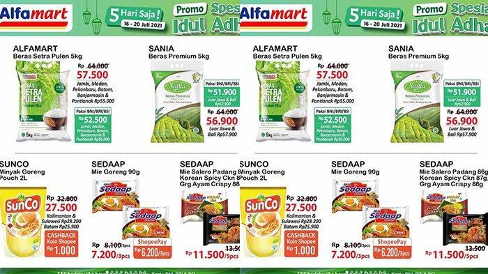 PROMO Alfamart & Indomaret Spesial Idul Adha 20 Juli 2021, Beras dan Minyak Goreng SUPER MURAH