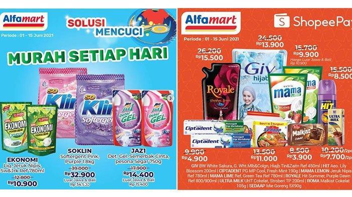 HARI INI PROMO Alfamart 7 Juni 2021: SoKlin Softergent Turun Harga, Minyak Goreng Bimoli Gratisan