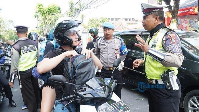 Hari Ke-6 Operasi Patuh Agung 2019, Satlantas Polresta Denpasar Temukan 36 Pelanggar
