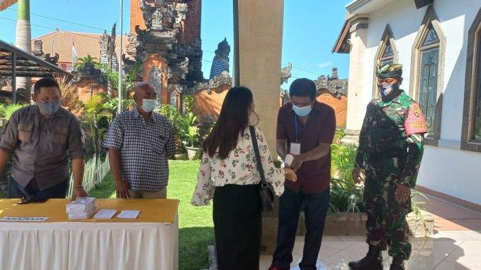 Jajaran TNI di Bali Amankan Peringatan Hari Kenaikan Isa Al Masih di Gereja GPIB Kuta