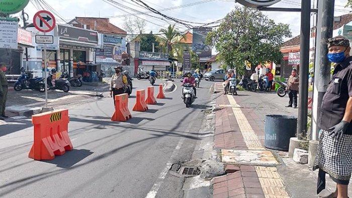 BREAKING NEWS: Hari Ini Kelurahan Panjer Denpasar Berlakukan PKM, Pernah Ada 2 Positif Covid-19