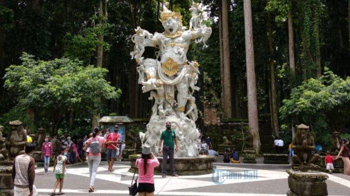 Libur Lebaran, DTW Sangeh di Badung Masih Jadi Primadona Untuk Dikunjungi