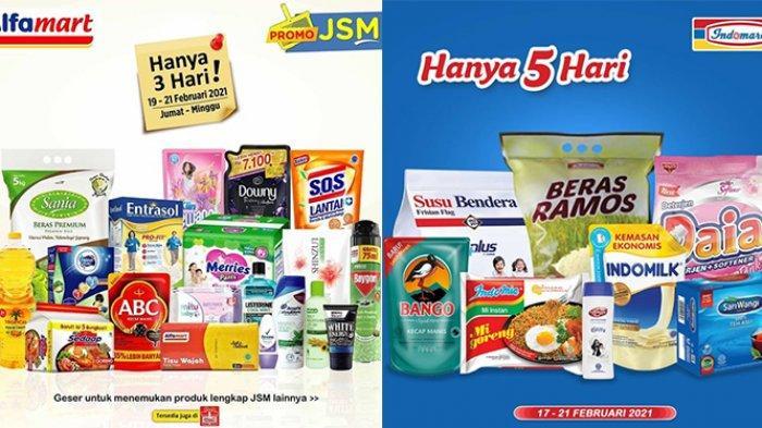HARI TERAKHIR Promo JSM Alfamart dan Indomaret 21 Februari 2021, Popok Diskon Rp21.600, Susu Rp7.000