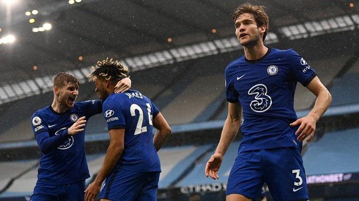 Hasil Liga Inggris Chelsea Pecundangi Man City, Pupuskan Pesta Juara The Citizens, Ini Reaksi Tuchel