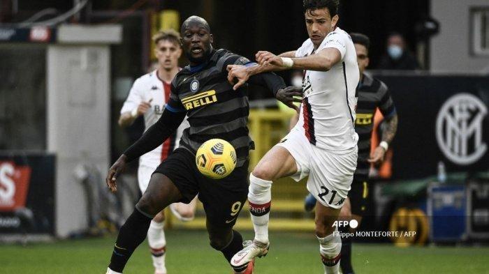 Hasil Liga Italia, Inter Milan Fantastis, Ciamiknya Lukaku Antar Nerazurri Jauhkan dari AC Milan