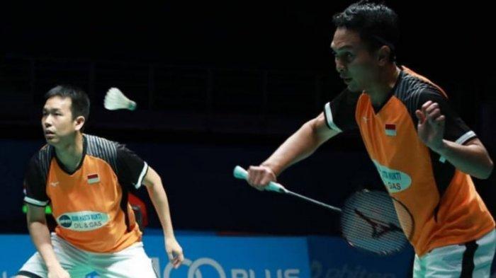 Siaran Langsung TVRI Final BWF Tour Finals 2020: Ahsan/Hendra Ditantang Juara Thailand Open Ini