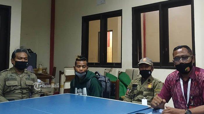 Ngaku Berbohong Suap Oknum di Pelabuhan Padang Bai,Hermanus Helu Dipulangkan ke Kampung Halamannya