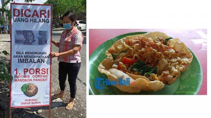 Unik, Promosi Mie Goreng Dapur Bunda di Denpasar Gunakan Modus Kehilangan Uang 10 Ribu